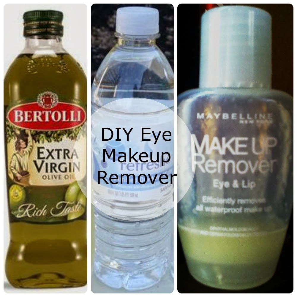 Olive oil eye makeup remover