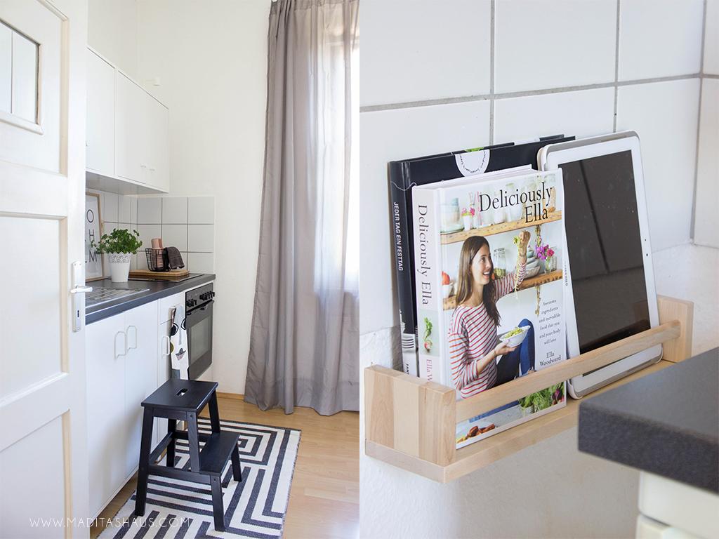 Kleine Küche mit wenig Budget einrichten Teil 2   Maditas Haus ...