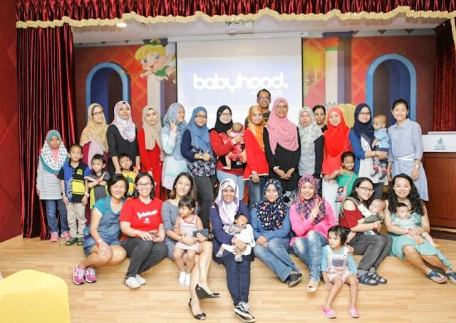 Babyhood Blogger's Event