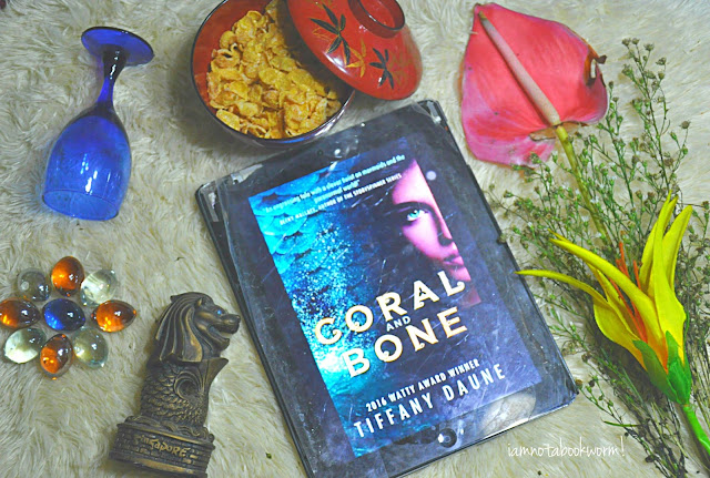 Coral and Bone (The Siren Chronicles #1 ) by Tiffany Daune | ARC | A Book Review by iamnotabookworm!