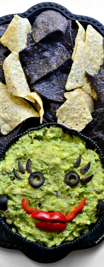 Bride of Frankenstein Dip via Fork&Beans Blog
