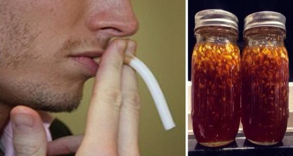 consuma acest amestec pentru a te lasa de fumat