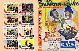 Caratula - El rey del circo 1954