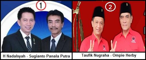 Dua pasang calon Bupati dan wakil Bupati Kabupaten Barito Utara 2018