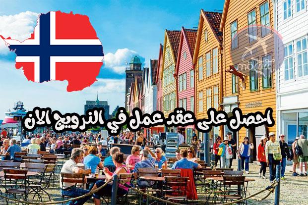 العمل في النرويج – احصل على عقد عمل في النرويج و انت في بلدك – حصريا