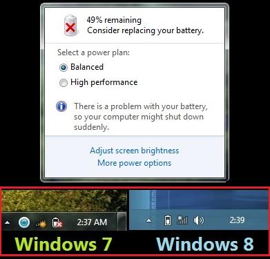 Cara Hilangkan Tanda Silang Merah Pada Icon Baterai di Windows 7