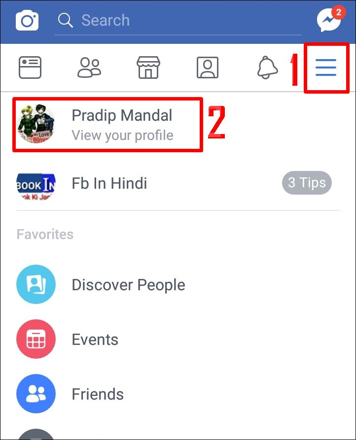 how to add travel from and to in facebook status