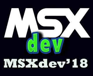 MSXdev 2018