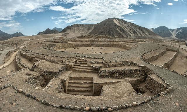 ciudad de Caral, civilización de Caral
