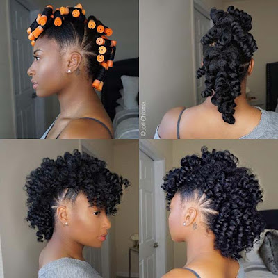 Bubble mohawks braids hairstyles are so trendy 39 Bubble Mohawk Braid Hairstyles Ponytails For African American To Copy
