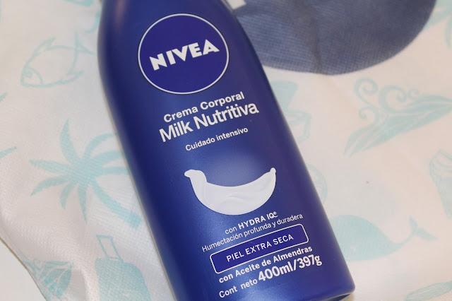 NIVEA Milk Nutritiva