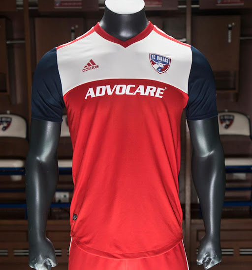 new concept 78659 1e168 FC Dallas 2018 Home Kit Released - Footy Headlines