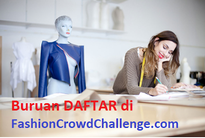 Cara Mengikuti Kompetisi Fashion Crowd Challenge 2015