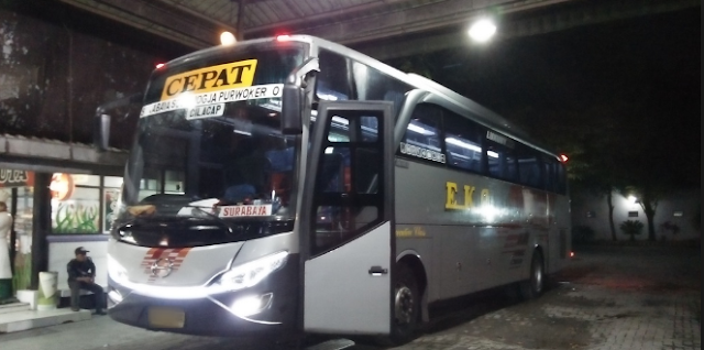 Pengalaman Mudik Naik Bus EKA Surabaya-Jogja