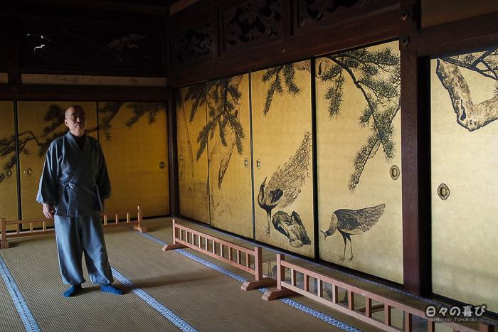 fusuma-e d'Ôkyo Maruyama au temple Daijoji