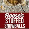 STUFFED SNOWBALL COOKIES