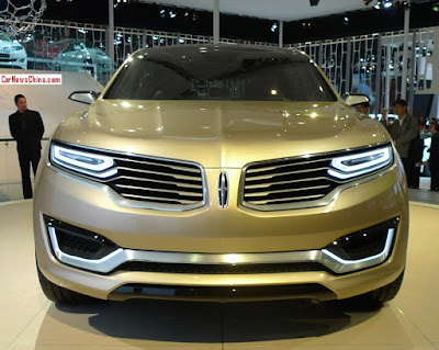 2016 Lincoln MKX SUV Crossover front side concept