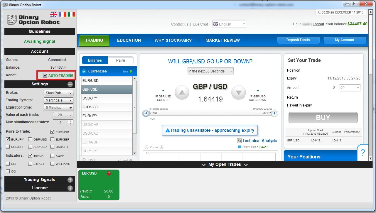 Binary options hack download
