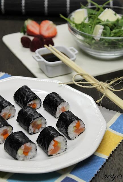 receta-de-makis-de-salmon-ahumado