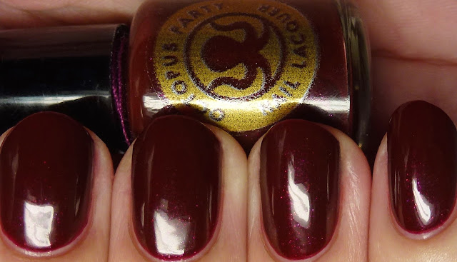 Octopus Party Nail Lacquer But Not in Vein