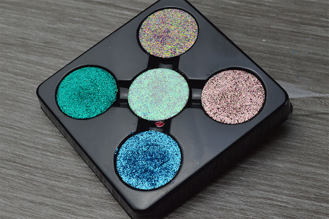 Revolution Pro Refill Glitter Eyeshadow Pack - Glisten UP