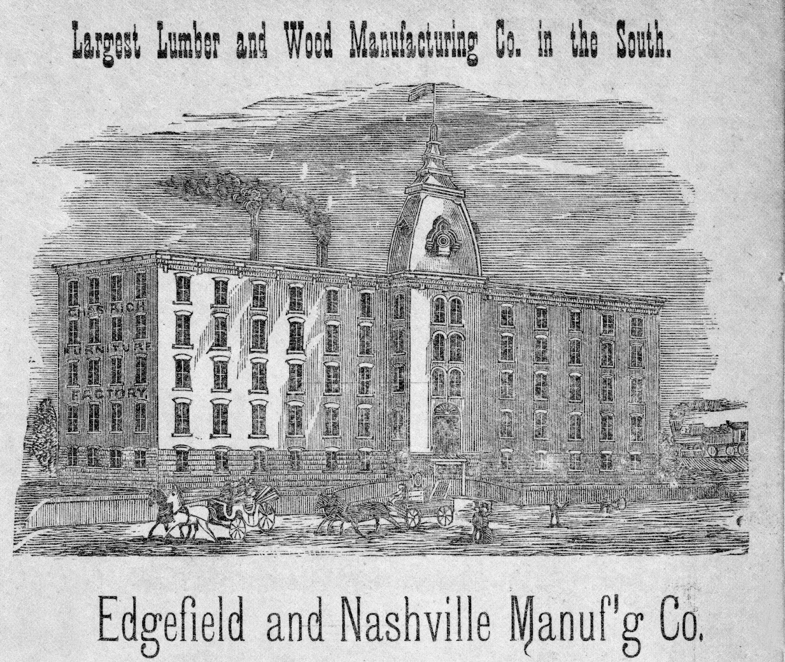 Nashville History: Business Advertisements, Fans