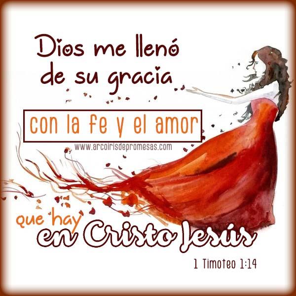 la misericordia y la gracia de dios mensajes cristianos con imágenes arcoiris de promesas