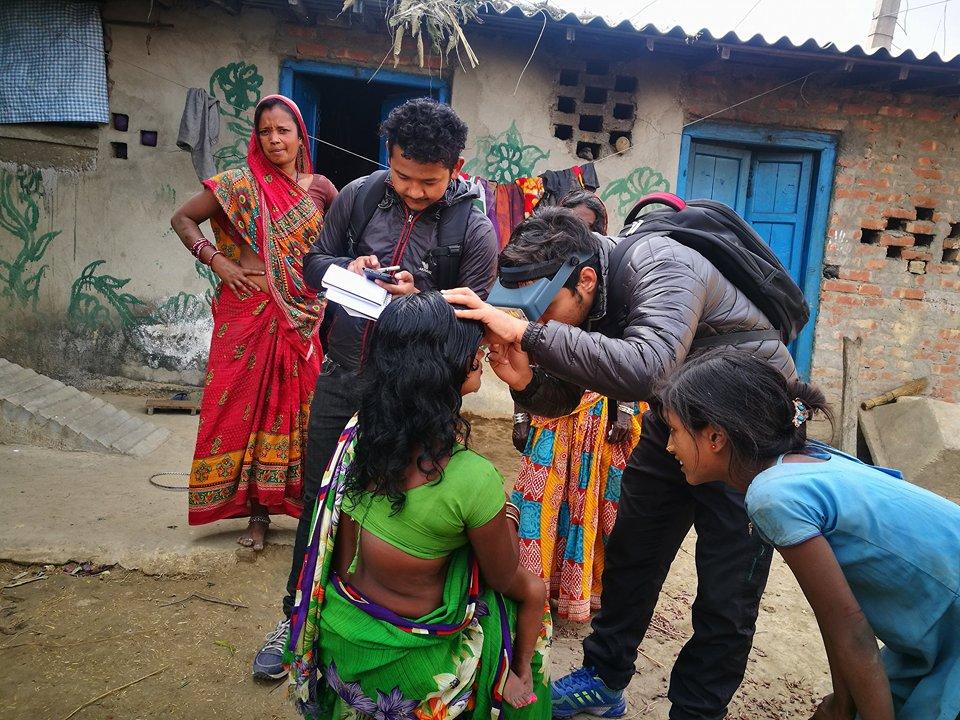 trachoma elimination in nepal