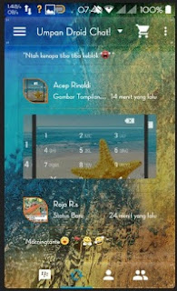 BBM Mod Transparant Droid Chat Versi Lawas 4.7.12 - CLONE