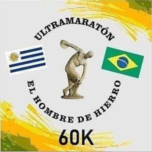 60k Ultramaratón El hombre de hierro (Aceguá a Melo, 25/oct/2020)