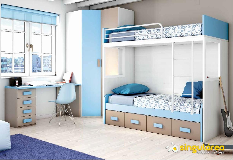 Blog dormitorios juveniles com tipos de cama para una - Dormitorios juveniles dobles ...