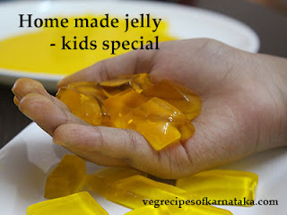 Jelly recipe in Kannada