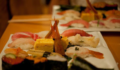 sushi - 10 Countries Around the World Serving Scrumptious Seafood Dishes
