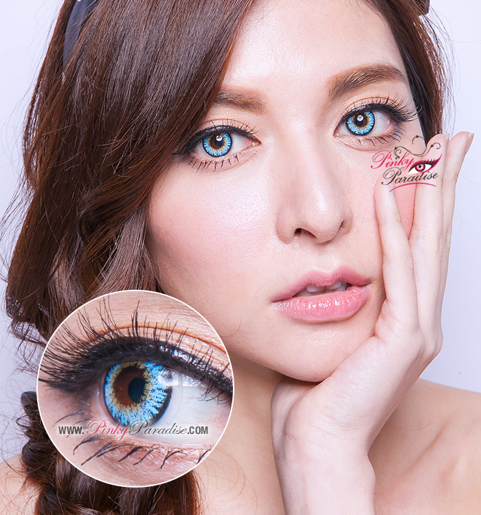 Pinky Paradise Contact Lenses