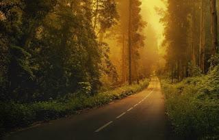 gambar jalanan sepi
