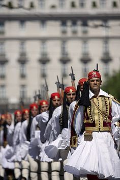 Evzones-The Presidential Guards of Greece