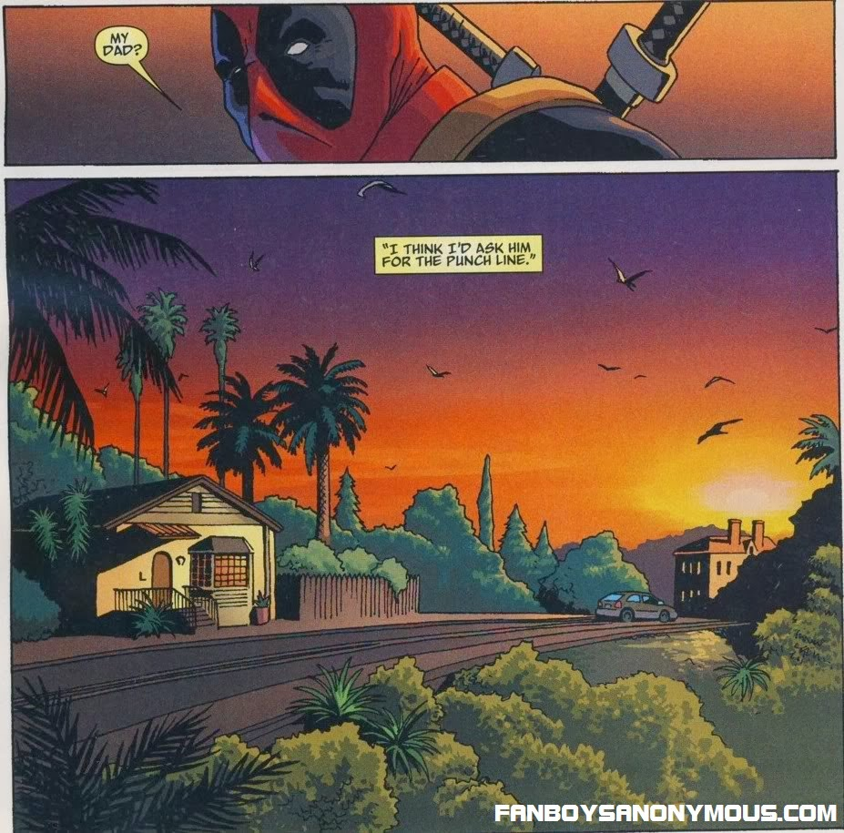 Deadpool One-Shot autobiography