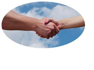 shaking hands image