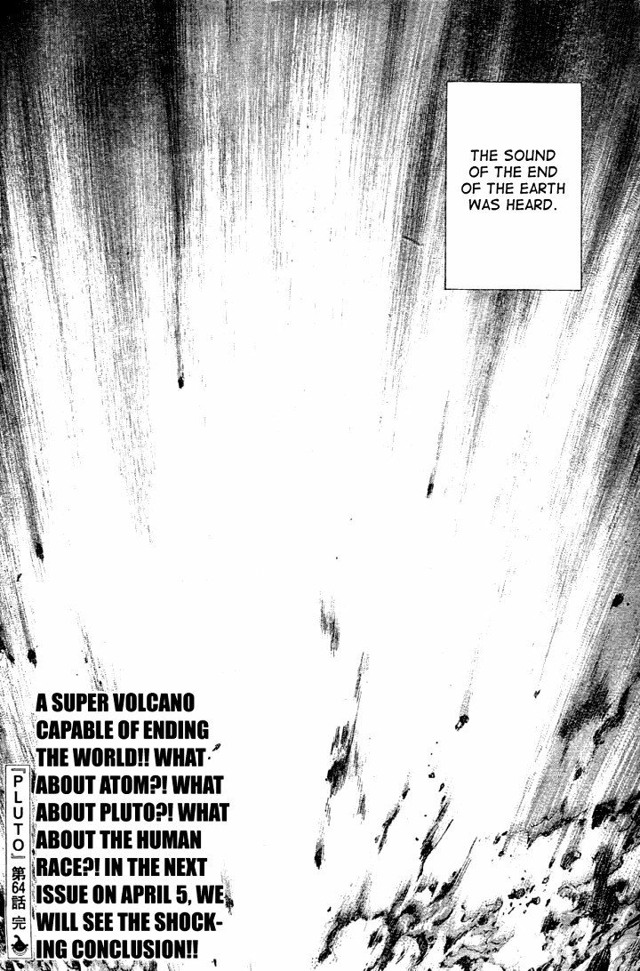 Page 24, Act 64: Sound of the End from Naoki Urasawa's Pluto Volume 8