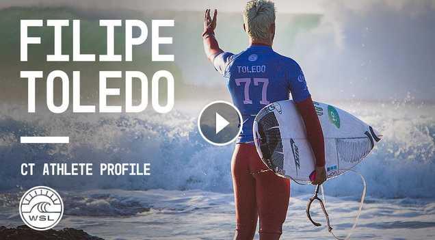 Wunderkind Filipe Toledo Profile