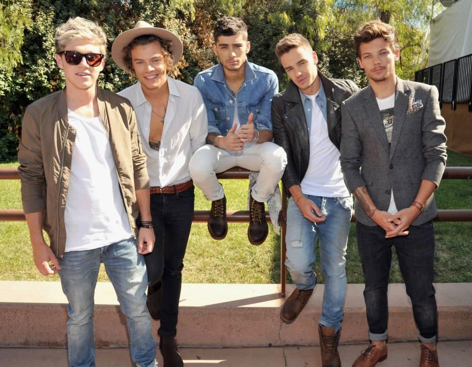 One Direction - Photoshoot - Teen Choice Awards
