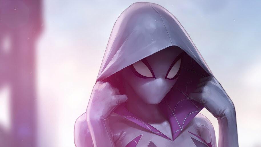 Spider-Gwen, Marvel, Superhero, 4K, #6.1132