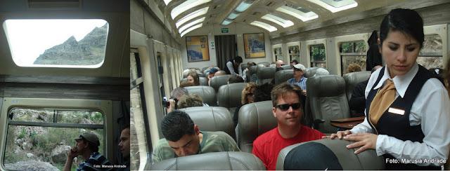 Trem para Machu Picchu - Peru