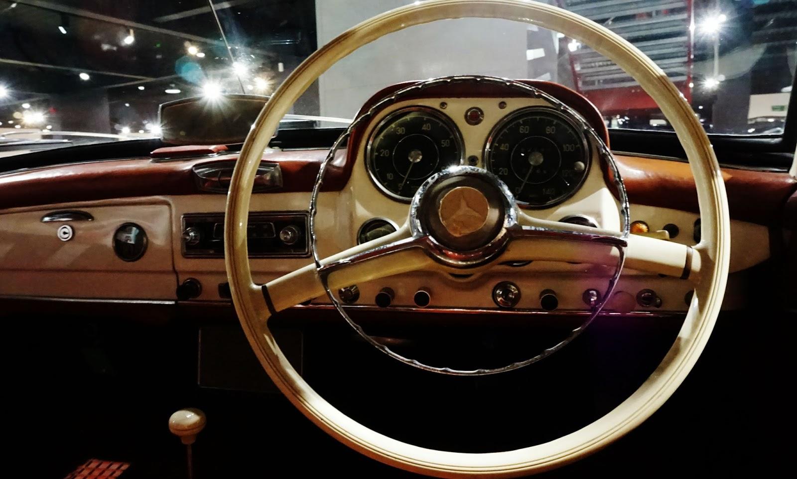 classic car super car model steering wheel interiors haynes motor museum