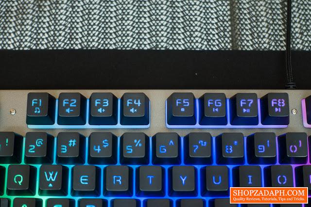fantech keyboard review
