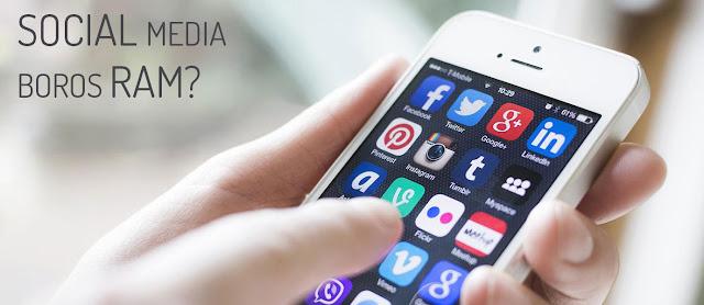 Aplikasi Social Media yang Paling Boros RAM di Smartphone
