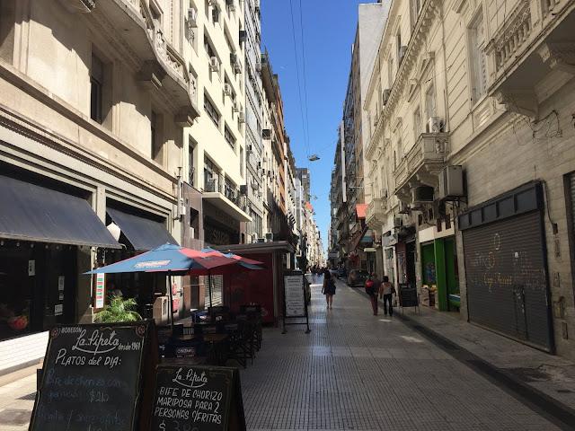 Pedestrian Street in San Nicolas