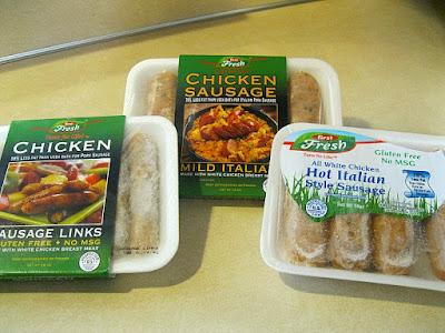 First Fresh Chicken Sausage Products