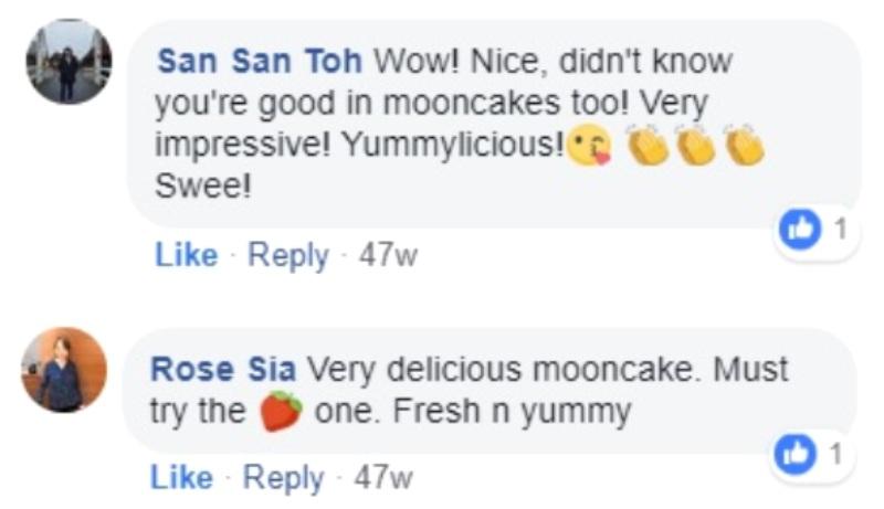yummy strawberry snowskin mooncakes recipe