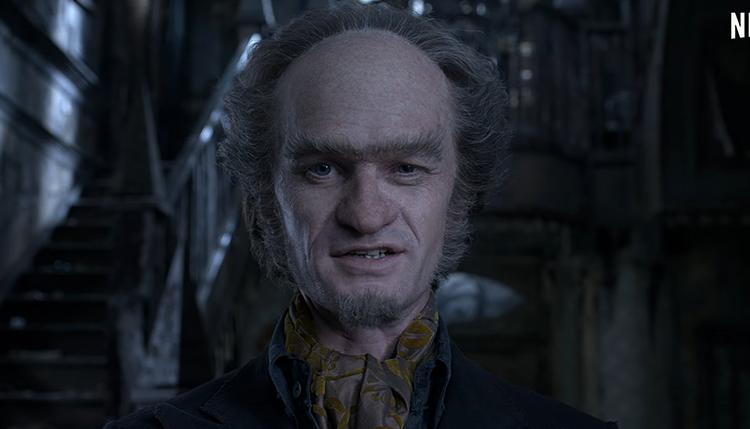 Desventuras em Série Netflix - Conde Olaf